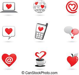 iconos del corazón - 2