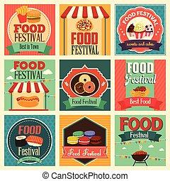iconos del festival de comida