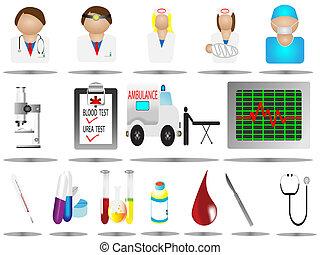 iconos del hospital