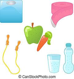 iconos dietéticos
