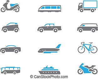 iconos Duotone - transporte