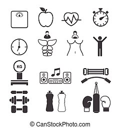 iconos en forma