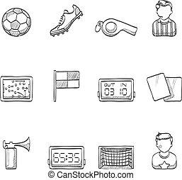iconos escoceses, fútbol