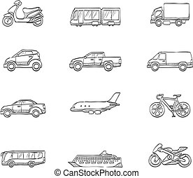 iconos escoceses, transporte
