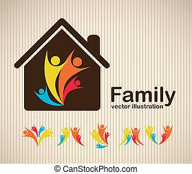 iconos familiares