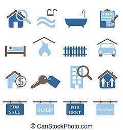 iconos inmobiliarios