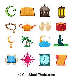 Iconos islámicos establecidos