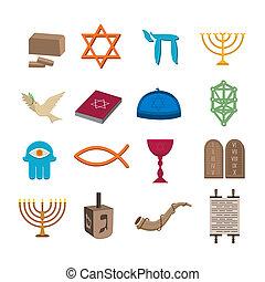 iconos judaísmo listos