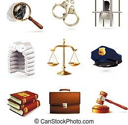 iconos legales establecidos
