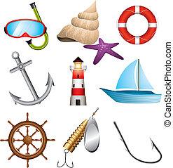 iconos marinos