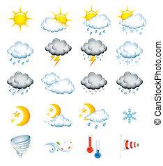 iconos meteorológicos
