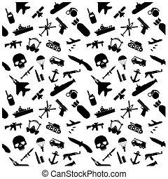 iconos militares listos