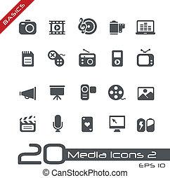 iconos multidia / básicos
