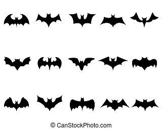 iconos, murciélago