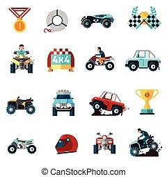 Iconos offroad listos