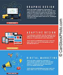 Iconos para diseño web, seo, redes sociales