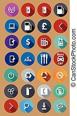Iconos para el servicio