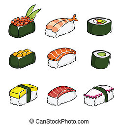 iconos Sushi