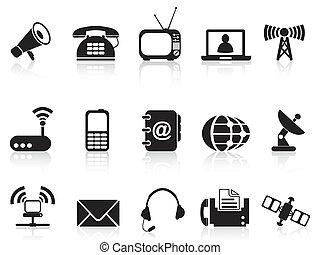 iconos, telecomunicación