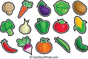 iconos vegetales