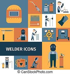 Iconos Welder listos
