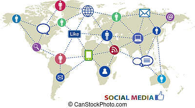 Icons de medios sociales