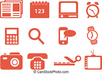 Icons. Vector listo