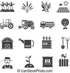 Icos de agricultura establecidos