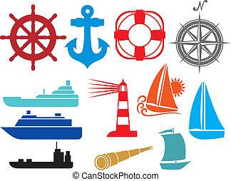 Icos náuticos y marinos
