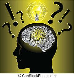 Idea cerebral y solución de problemas