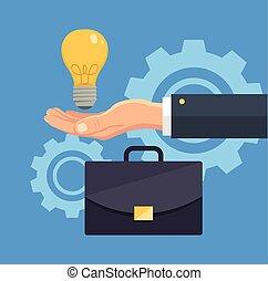 Idea creativa de negocios