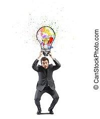 Idea de negocios creativa