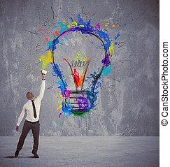idea, empresa / negocio, creativo