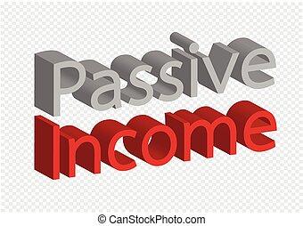 Idea pasajera sobre ingresos recurrentes