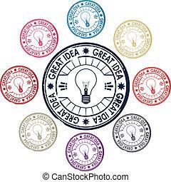 Idea, sellos