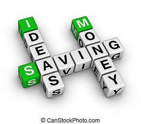 Ideas ahorrando crucigramas