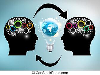 ideas, intercambio