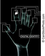 identidad, digital