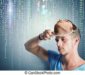 Identidad oculta de un hacker