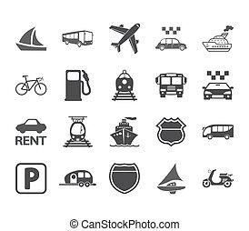 Identificación del transporte.