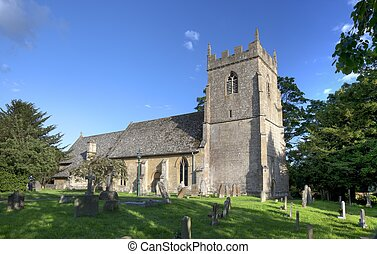 Iglesia Cotswold en Ebrington