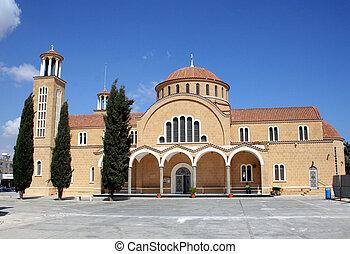 Iglesia cypriota tradicional