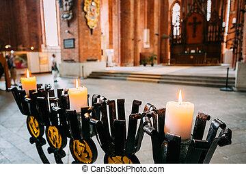 Iglesia de San Pedro en riga, Letonia