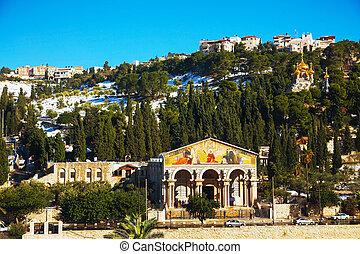 Iglesia de todas las naciones en Jerusalén
