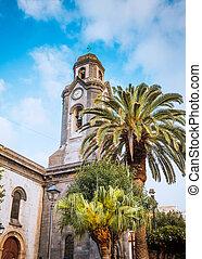 Iglesia en Puerto de la Cruz tenerife canary spain.