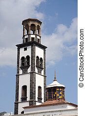Iglesia en Santa cruz de tenerife, islas canarias, España