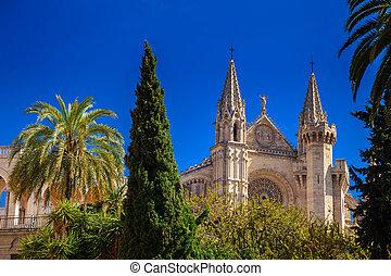 Iglesia gótica la seu, Mayorca