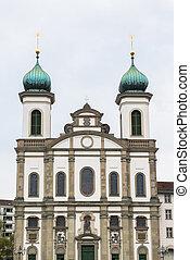 Iglesia Jesuita en Lucerne