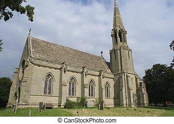 Iglesia parroquial en Inglaterra