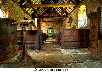 iglesia, rural, shropshire